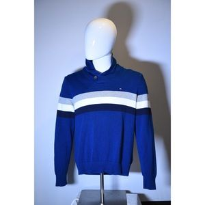 Tommy Hilfiger blue pull over cardigan